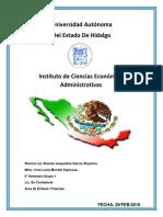 Clasificacion de Actividades Del Gobierno Federal
