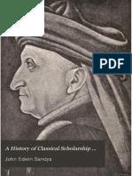 SANDYS, J. E. (1908) A history of classical scholarship, vol. 2.pdf