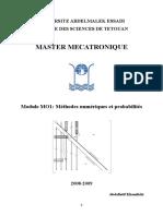 Polycopie Methodes Numeriques