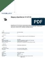 Maguay Expertserver 411 e7 4u