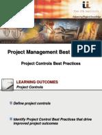IPA Institute-Project Controls Best Practices-Webinar