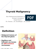 thyroid malignancy.pptx