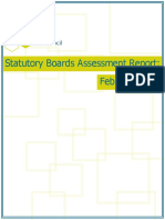 Statutory Boards Assessment Report February 2016