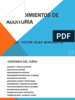 Procedimientos de Auditoria Financiera