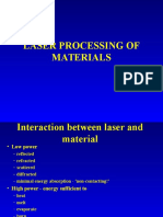 Laser Procesing Power Point Show