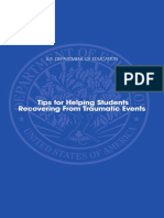 10 tips for helping students recovering from traumatic events recovering