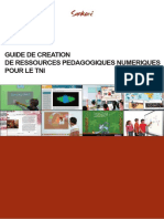 Guide de Creation de Ressources pour le TNI
