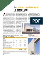 ORÇAMENTO REAL - Fechamento Painel Pré-fabricado x Alvenaria Estrutural