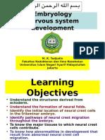 Embryology-Nervous System Development