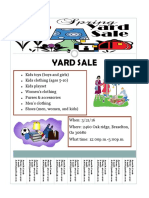 yard sale flyer 1