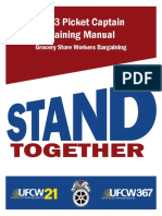 UFCW Picket Captain Training Manual 2013 08121