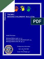 FEBRUARY 2016 Missing Children%27s Bulletin (1)