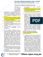 CASOS PARA ASCENSO DE NIVEL 2016 - Resuelto