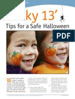 19  lucky 13 tips for a safe halloween 1015