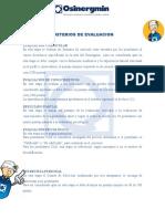 Criterio de Evaluacion (1)