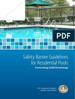 28  safety barrier guidelines for residential pools