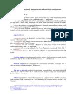 Valorile functionale si expresive ale indicativului in textul narativ