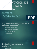 Angel Zapata Exportacion de Maracuya