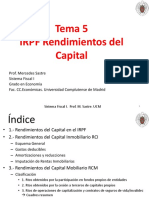 Tema 5-IRPF-Rendimientos Del Capital