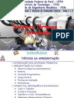 Sistemas Térmicos I - Aulas 1 e 2 - Introdução - 2016