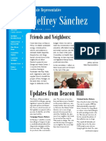 Sanchez Winter 2016 Newsletter