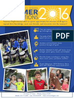 2016 Summer Explorations Catalog