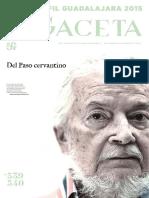 FCE Gaceta Noviembre-Diciembre 2015