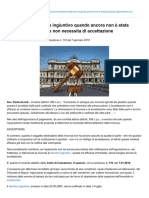 CORTE 2016 CORTE DI CASSAZIONE sentenza 110 7 GENNAIO 2016 rinuncia AGLI ATTI DI GIUDIZIO