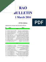 Bulletin 160301 (HTML Edition)