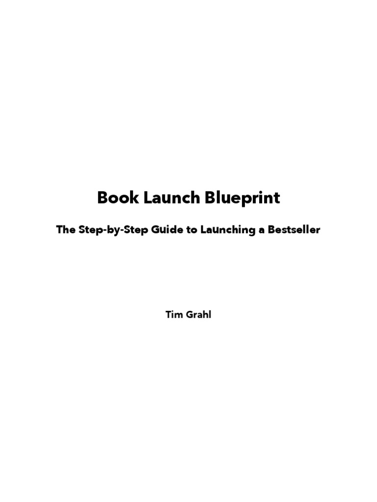 Book launch blueprint digital social media social media malvernweather Image collections