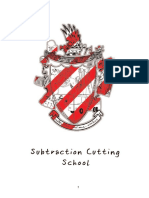 Subtraction Cutting School Book  Subtraction Cutting School Book