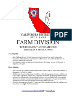 2016 Farm Tournament of Champions Rules 2-29-16