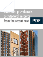 downtown providence's architectural resources from the recent past