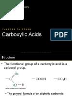 Ch13 Carb. Acids