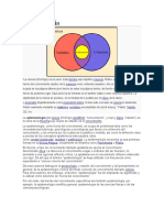 Epistemología