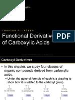 Ch14 Deriv. of Carb. Acids