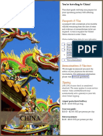 China Pre Travel Guide