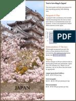 Japan Pre Travel Guide