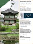South Korea Pre Travel Guide