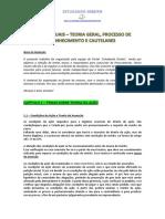 APOSTILA - Temas de Processo de Conhecimento e Cautelar - PGE-PGM