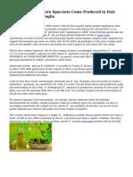 Olio Pada Oliva Estero Spacciato Come Produced in Italy Operazione Dalla Puglia