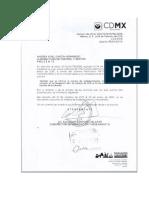 Respuesta de Delegacion Cuauhtémoc