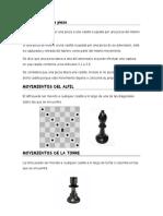 Movimientos de las piezas de Ajedrez