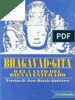 Bhagavad Gita Anonimo