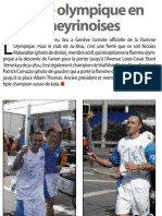 Flamme olympique - Septembre 2004