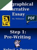 Biographical Narrative Essay