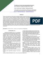 Aplikasi Penjadwalan Mata Kuliah Menggunakan Particle Swarm Optimization