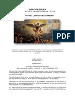 ORACION DIARIA VERSION CORTA  (DIA Y NOCHE)