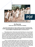 Gandhiji on Prayer