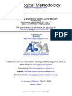 Bazeley (2012) - Regulating Qualitative Coding Using QDAS?